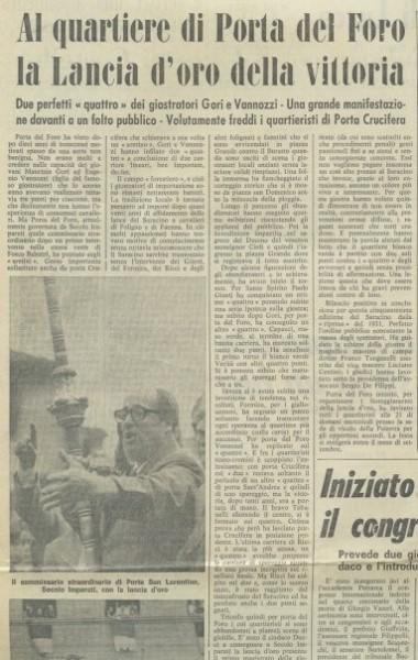 Archivio Storico Porta del Foro - www.portadelforo.it