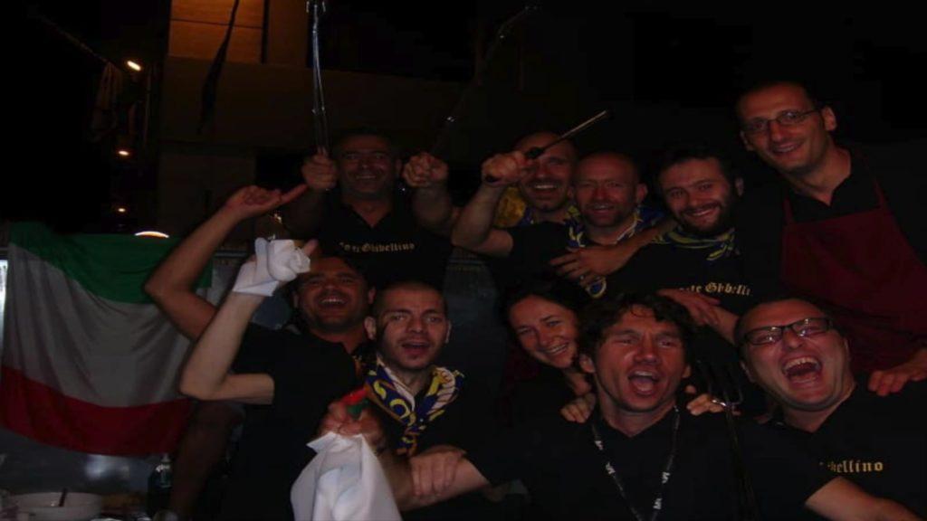 Gruppo Griglia - Foto Fabebook Quartiere Porta Santo Spirito